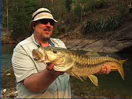 When I say a fish made of gold you think I'm full of crap. When I show you this picture, you reach for a fishing pole!