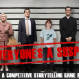 "GM: Kristin Firth Players: Matt Gaston, Sean Nittner, Jackson Tegu, Lali Cheshire, and Laurel Halbany System: Everyone's A Suspect Kristin's storytelling game of ""who done it"" is so much fun. The game […]"